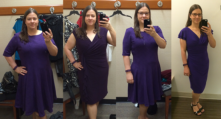 Purple Dress Progress Pics