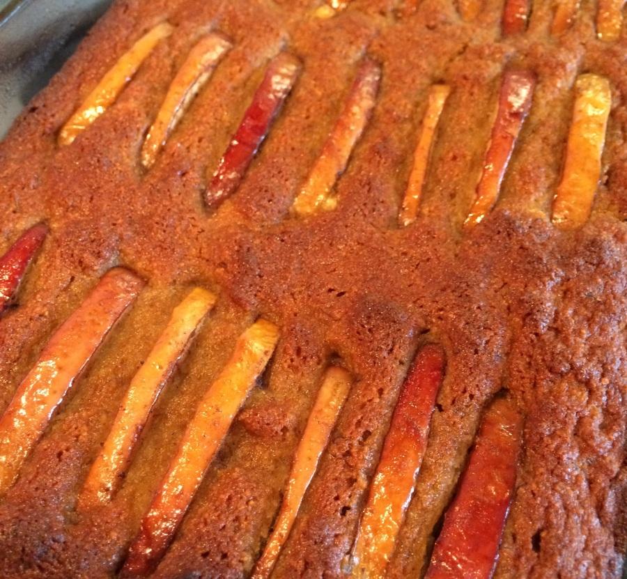 Evil Applesauce Cake