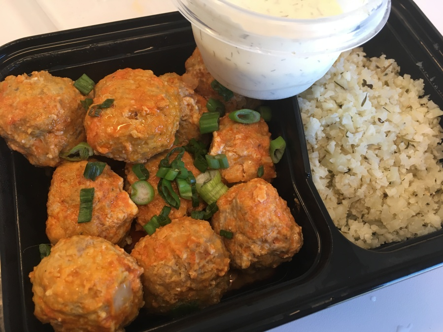 Buffalo Turkey Slow Cooker Meatballs